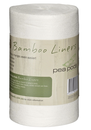 100% Bamboo Liners